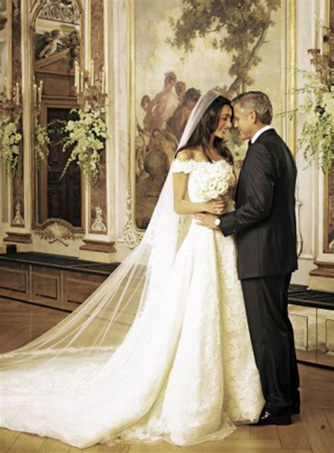 george clooney amal alamuddins wedding  rich