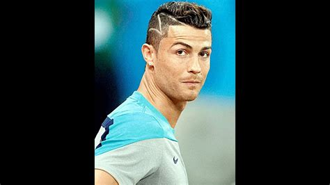 hairstyle cristiano ronaldo world cup popular youtube