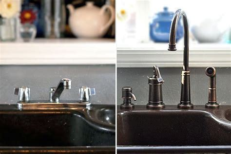 replacing a kitchen sink faucet how to remove and replace a kitchen faucet kitchen