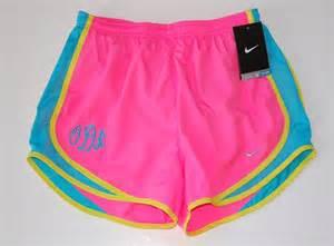 Neon Nike Running Shorts