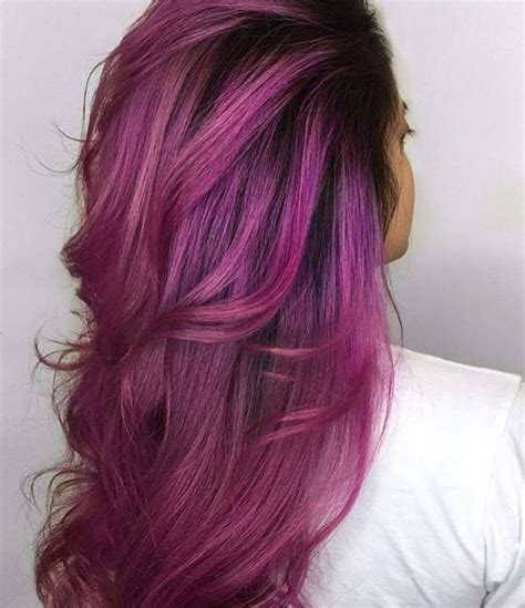 Hair With Colors by In With Magenta Hair Colors The Haircut Web