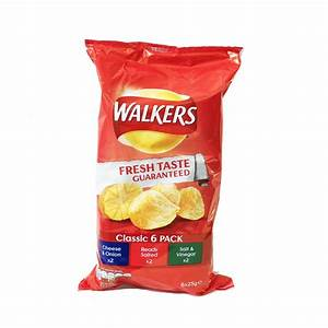 Walkers Crisps, Classic 6 Pack - Food 4 My Holiday