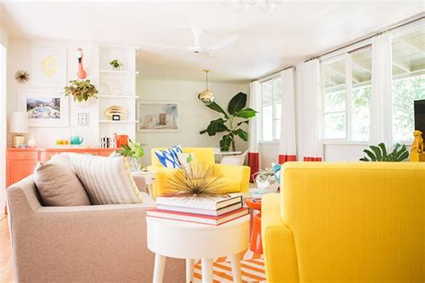 Colorful Living Room Escape by Mrs Lilien S Colorful Tropical Living Room Makeover