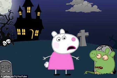 disturbing youtube   posed  popular cartoons