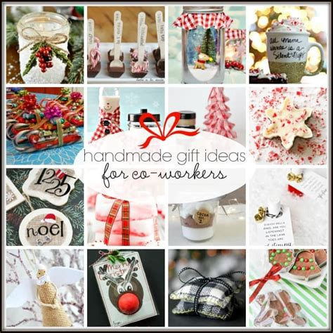 easy holiday gifts for coworkers 20 handmade gift ideas for co workers