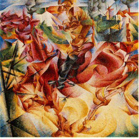 Futurismus  Zeitgeschehen  Moderne Kunst Verstehen