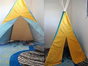 Fabriquer Tipi Enfant : tuto tipi mat riels n cessaires et tapes de fabrication tous nos conseils ~ Voncanada.com Idées de Décoration