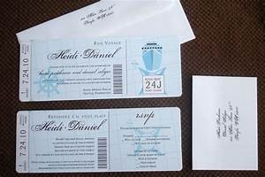 nautical wedding boarding pass invitation tropical With cruise boarding pass wedding invitations with rsvp