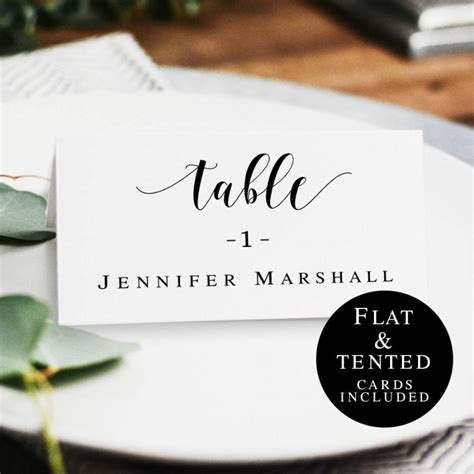 wedding name cards template rustic wedding table card template diy place cards wedding name