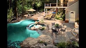 Diseno de jardines modernos con piscina hd 3d arte y for Diseno de jardines con piscina