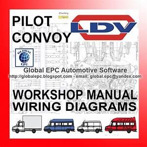 Auto Moto Repair Manuals  Ldv Convoy Pilot Workshop Repair