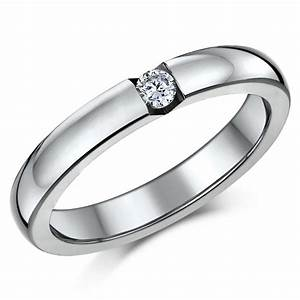Triple titanium bridal set engagement eternity and cz for Wedding ring sets uk