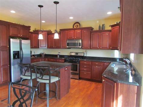 rouge cabinet color dunlap il kitchen cabinets