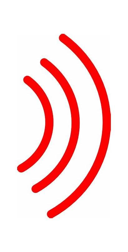 Sound Waves Wave Radio Clip Clipart Graphic