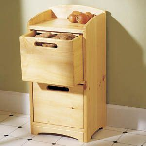 vegetable bin storage woodworking plans wanda wood blogs