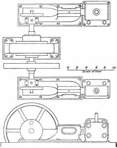 Corliss Steam Engine Generator Plan