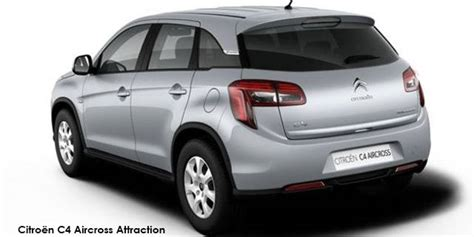 citroen c4 aircross 2 0i comfort specs in south africa cars co za - Citroën C4 Aircross Confort