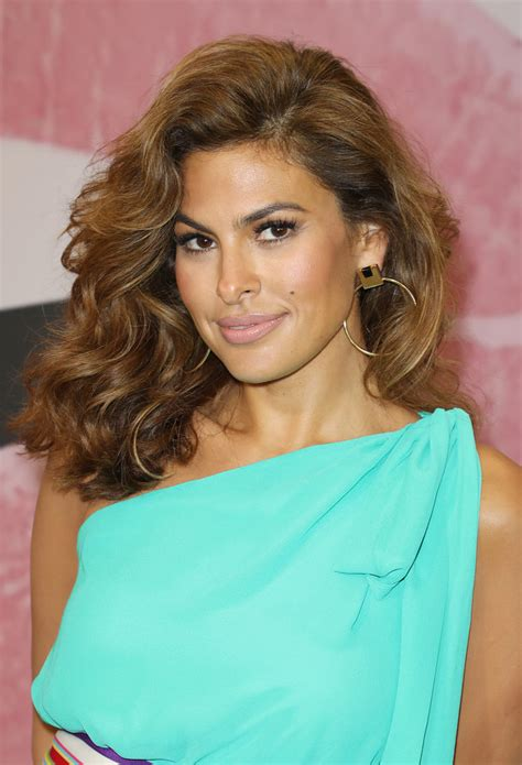 Eva Mendes Strawberry Hair Color