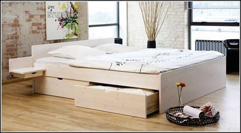Ikea Bett Weiss Mit Schubladen  Betten  House Und Dekor
