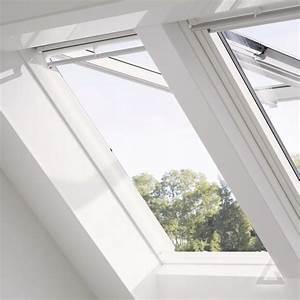 Velux Gpu Pk06 : velux klapp schwing fenster gpu kunststoff stufenlos im dachgewerk online shop ~ Orissabook.com Haus und Dekorationen