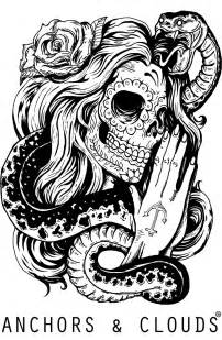 Mexican Skull Tattoos Drawings