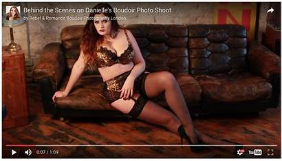 Boudoir Behind Scenes London Shoot Danielle Warehouse