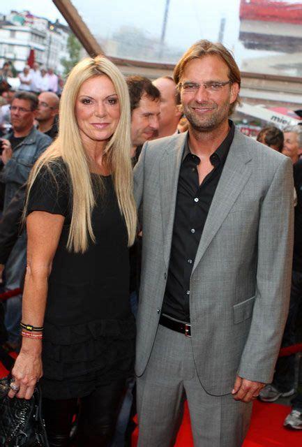 juergen klopp juergen klopp mit seiner ehefrau ulla foto