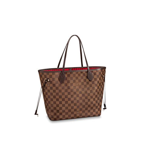 neverfull mm damier ebene handbags louis vuitton