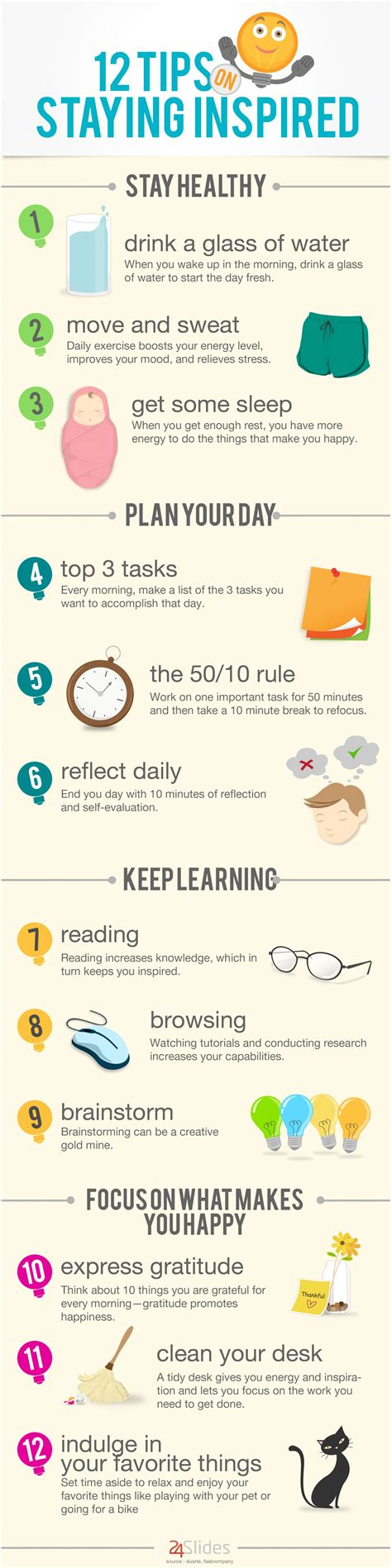 12 Tips On Staying Inspired Visually