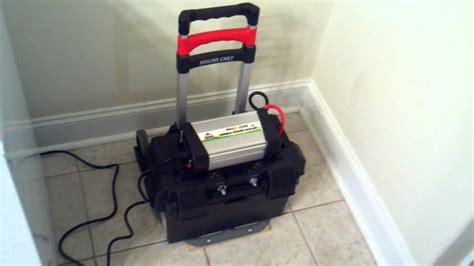 diy portable solar power  practical freezer test