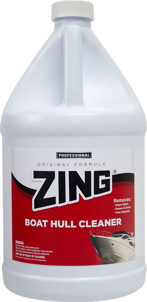 Boat Hull Cleaner Zing by Zing 174 Original Formula Boat Hull Cleaner N074 Nyco