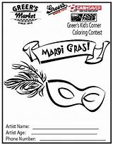Coloring Sheets Corner Pages Greer Names Artist Contest sketch template