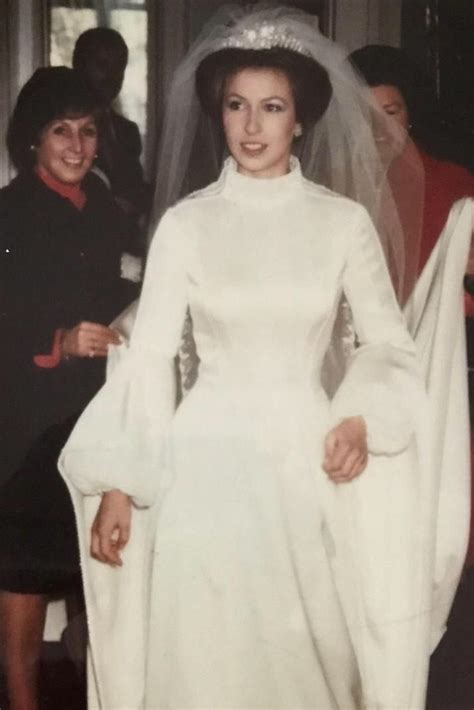 princess anne   wedding day november