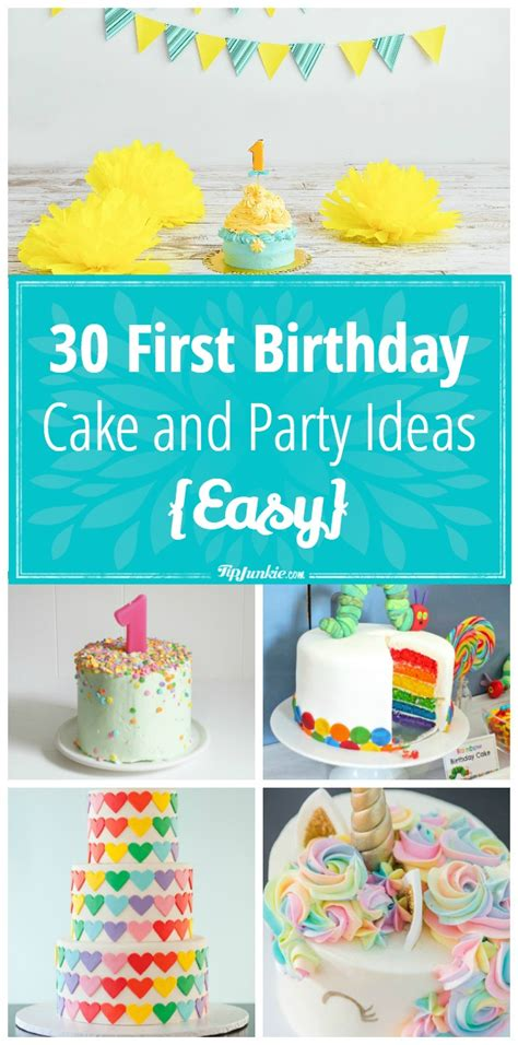 26 birthday cake party ideas tip junkie 100 birthday cake ideas coolest