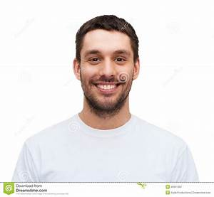Portrait Of A Handsome Young Man Smiling Royalty-Free ...