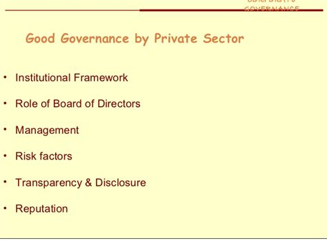 Corporate Governance Ppt Mba