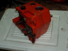USED Echo CS 451VL Chainsaw Crankcase & Crankshaft