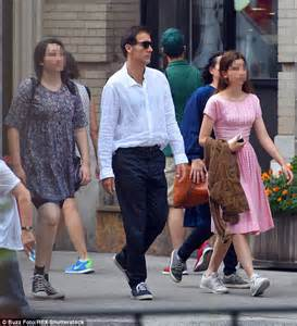 Clive Owen hits New York for a day out with his two ...