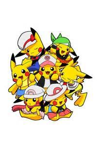 Female Pokemon Trainer Pikachu