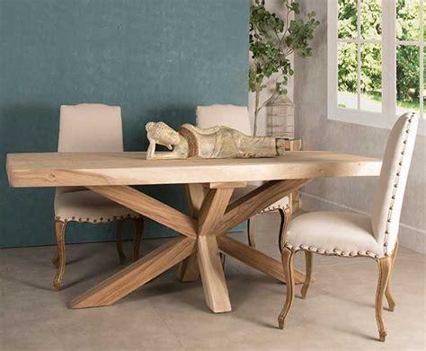 mesa  el comedor madera maciza  sillas artesania