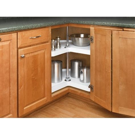 kitchen cabinets with hardware rev a shelf 6472 24 11 52 24in kidney lazy susans 2 6472
