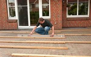 Terrasse selber bauen anleitung in 4 schritten for Terrasse bauen