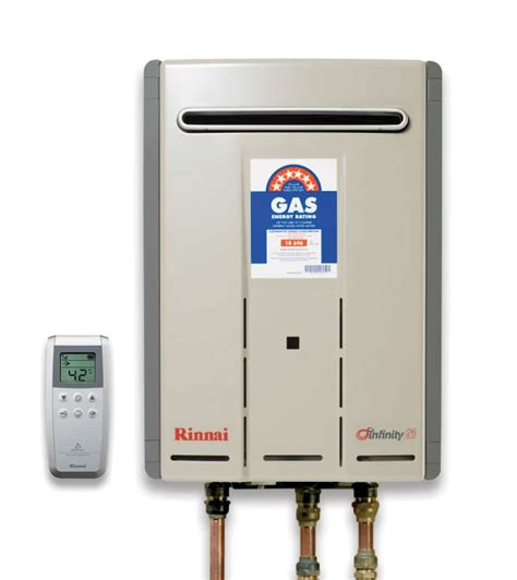 Infinity 26 Touch Gas Instantaneous Hot Water System