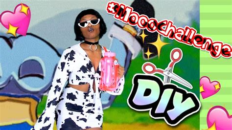 moooood diy doja cat mooo challenge inspired  piece