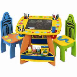 crayola wooden table and chairs set sam s club