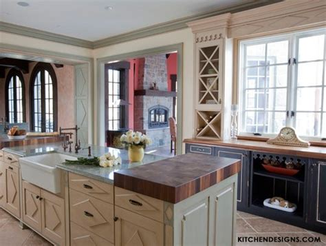 French Country Kitchen Cabinets   Kitchen Designs by Ken Kelly