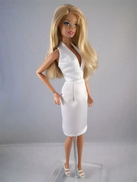 Barbie white Sexy Dress