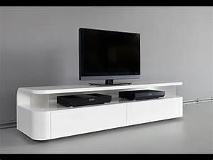 Table Tv Design : modern tv stand design ideas fit for any home youtube ~ Teatrodelosmanantiales.com Idées de Décoration