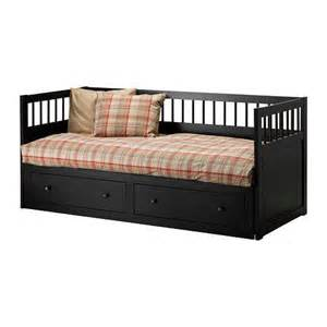 hemnes daybed frame black brown twin from ikea my girls