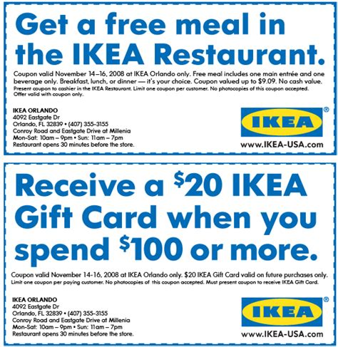 Ikea Gutscheine by Ikea Printable Coupons September 2015 Printable Coupons 2015